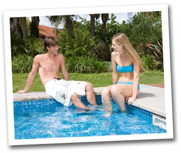 Vacation rental pool