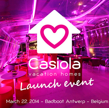 Casiola vacation homes Launch