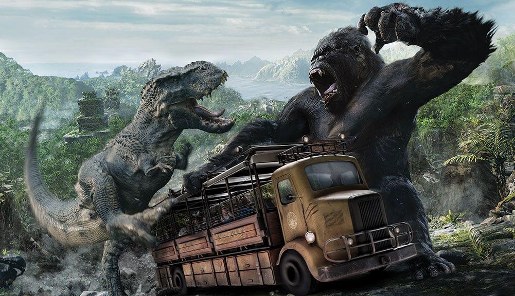 Kong Skull Island Theme Park