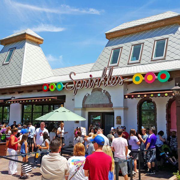 Disney Springs Sprinkles Cup Cakes
