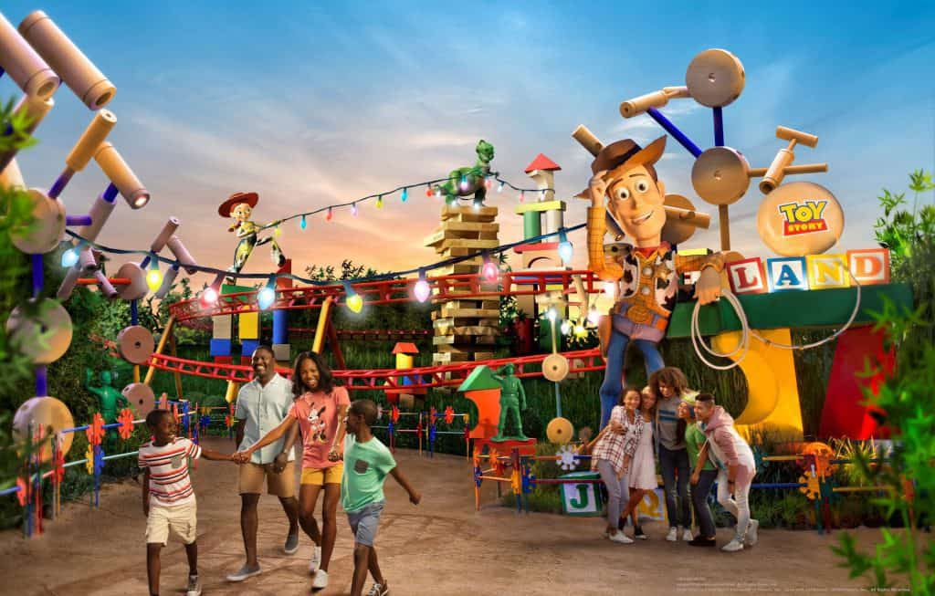 Toy Story Land entrance at Disney World 1024x653 1