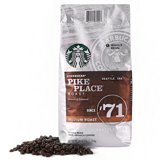 Starbucks Pike Place Whole Bean Coffee 1.13kg