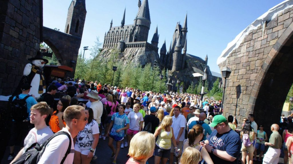 wizarding world harry potter crowds april 2 2012 842 oi