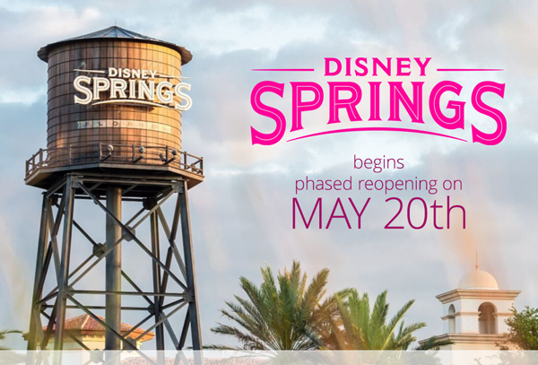 disney springs reopening