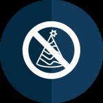 no parties icon