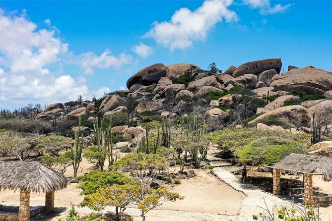 Aruba Island Tour - Ayo Rock Formation