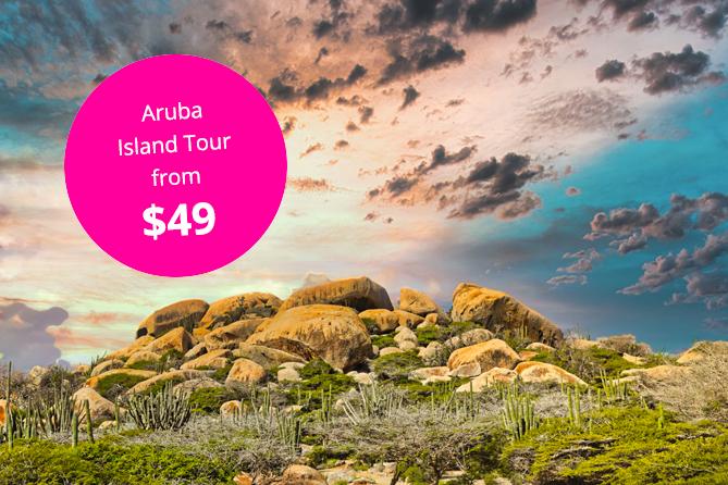 Aruba Island Tour from $49