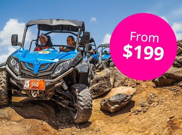 Full Day UTV Off Road Adventure with Snorkel and Flamingo Encounter 1