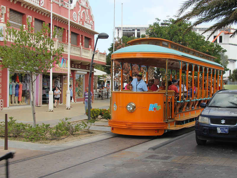 Getting Around Aruba - Oranjestad Trams