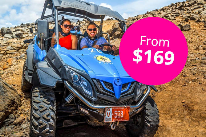 Half Day UTV Off Road Adventure with Snorkel and Flamingo Encounter 1