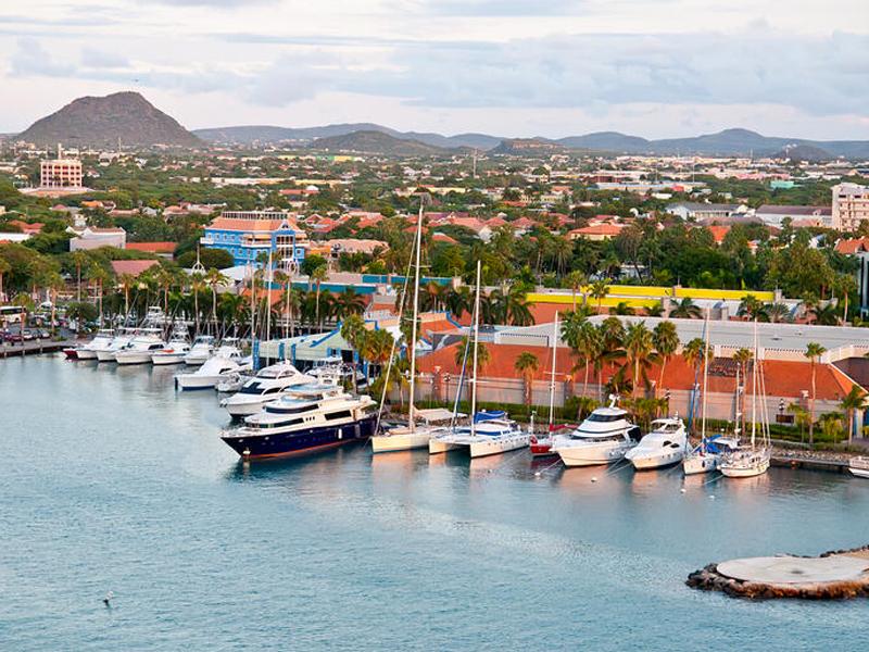 1. Aruba Oranjestad Cruise Port