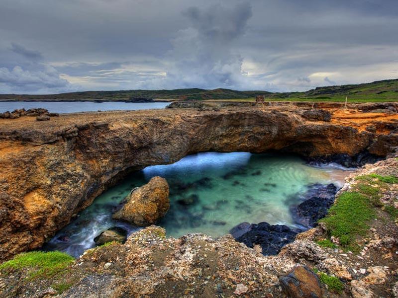 natuurlijke brug